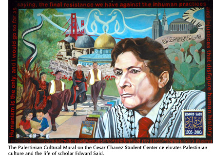 Sf state news for Cesar chavez mural