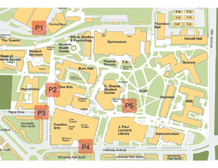 Sf State Campus Map Students plan campus oases for PARK(ing) Day   San Francisco State