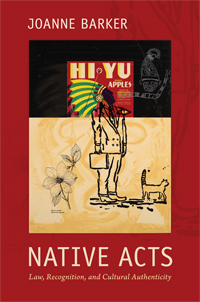 Book jacket for Native Acts.