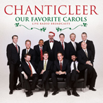 """The album cover of """"Our Favorite Carols"""" by Chanticleer."""