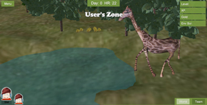 An image of gameplay from