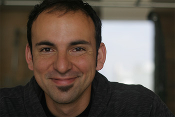 A photo of Assistant Professor of Math Federico Ardila.