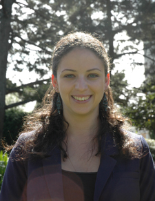 A photo of Maria Gershenovich, hood recipient for the College of Behavioral and Social Sciences