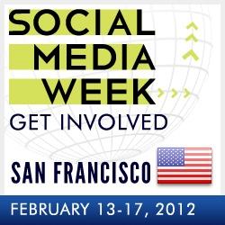 An image of the logo of Social Media Week San Francisco
