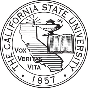 Photo of the CSU seal and link to video of the Feb. 20 presidential search committee meeting
