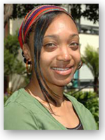 A photo of SF State graduate student Adrienne Wilson.
