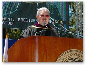 1.A photo of San Francisco Mayor Edwin M. Lee speaking