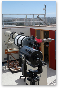 A photo of the SF State observatory.