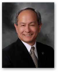 A photo of incoming SF State president Leslie E Wong.