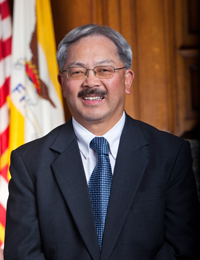 A photo of San Francisco Mayor Edwin M. Lee.